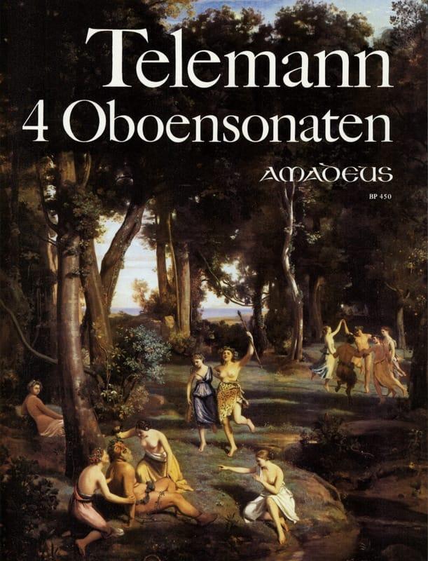 TELEMANN - 4 Oboensonaten - Partition - di-arezzo.com