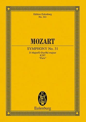 Symphonie D-Dur KV 297- Partitur - MOZART - laflutedepan.com