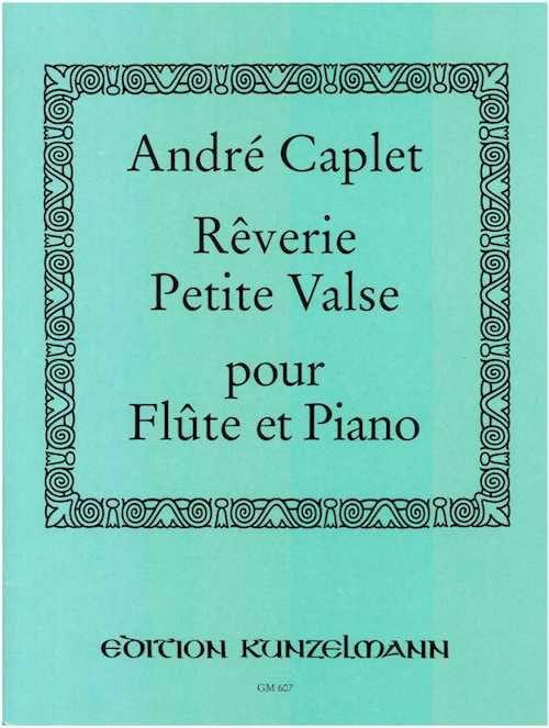 Rêverie et Petite valse - Flûte et piano - laflutedepan.com