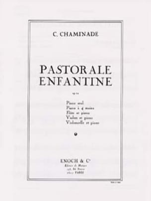 Cécile Chaminade - Childish Pastoral Op. 12 - Partition - di-arezzo.co.uk