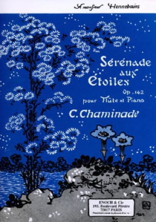 Cécile Chaminade - Serenade with Stars Op. 142 - Partition - di-arezzo.co.uk