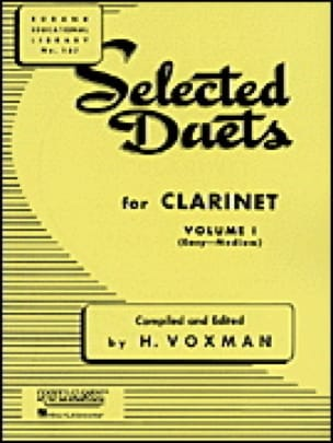- Selected Duets for Clarinet - Volume 1 - Partition - di-arezzo.co.uk