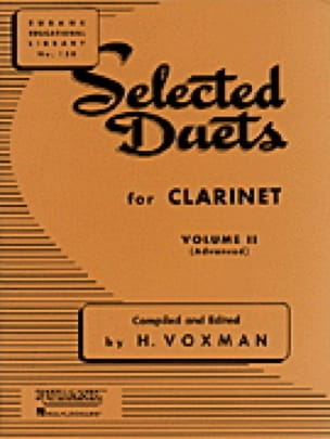- Selected Duets for clarinet - Volume 2 - Partition - di-arezzo.co.uk