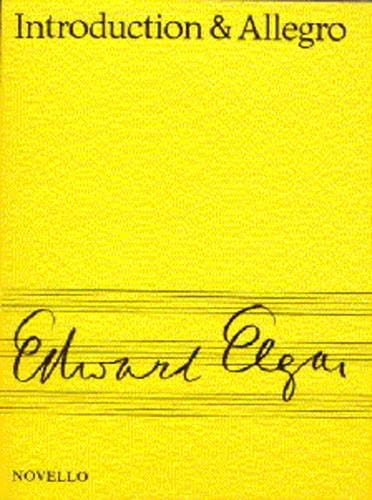 ELGAR - Introduction and Allegro op. 47- Score - Partition - di-arezzo.com