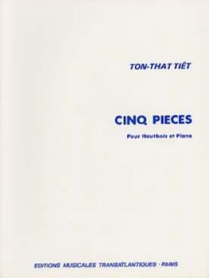 5 Pièces - Hautbois et Piano - Ton That Tiêt - laflutedepan.com