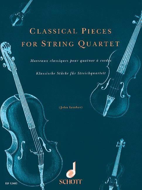 Classical Pieces - String quartet - John Kember - laflutedepan.com
