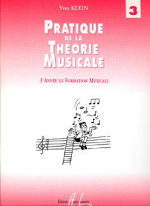 Yves Klein - Practice of Music Theory Volume 3 - Partition - di-arezzo.co.uk