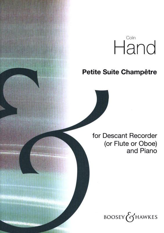 Petite suite champêtre - Colin Hand - Partition - laflutedepan.com