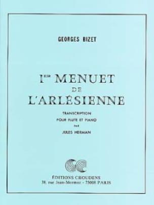 BIZET - 1st Menuet of L 'Arlésienne - Piano Flute - Partition - di-arezzo.co.uk