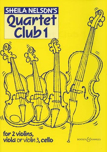 Sheila M. Nelson - Quartet Club, Volume 1 - Partition - di-arezzo.com