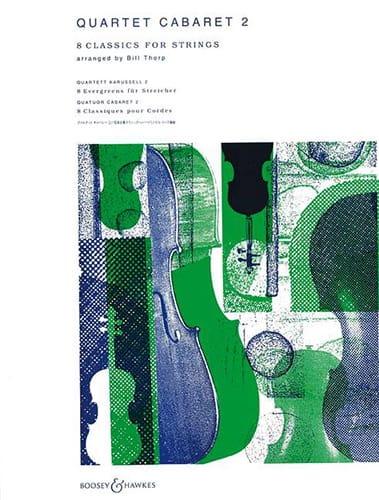 Quartet Cabaret, Volume 2 - Bill Thorp - Partition - laflutedepan.com