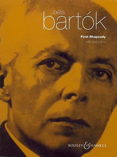 BARTOK - Rapsodia No. 1 - Cello - Partition - di-arezzo.es