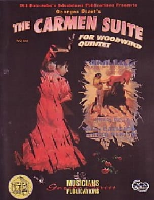 BIZET - Carmen Suite - Holzbläserquintett - Partition - di-arezzo.de