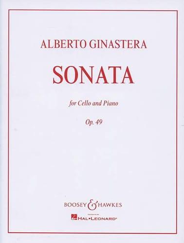 Sonate op. 49 - GINASTERA - Partition - laflutedepan.com