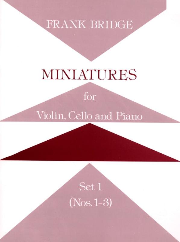 Miniatures - Set 1 n° 1-3 -Parts - Frank Bridge - laflutedepan.com