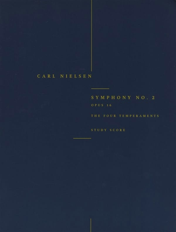 Symphonie n° 2 op. 16 The four temperaments - Score - laflutedepan.com