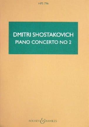 Concerto Piano Nr. 2 op. 102 - Partitur - laflutedepan.com