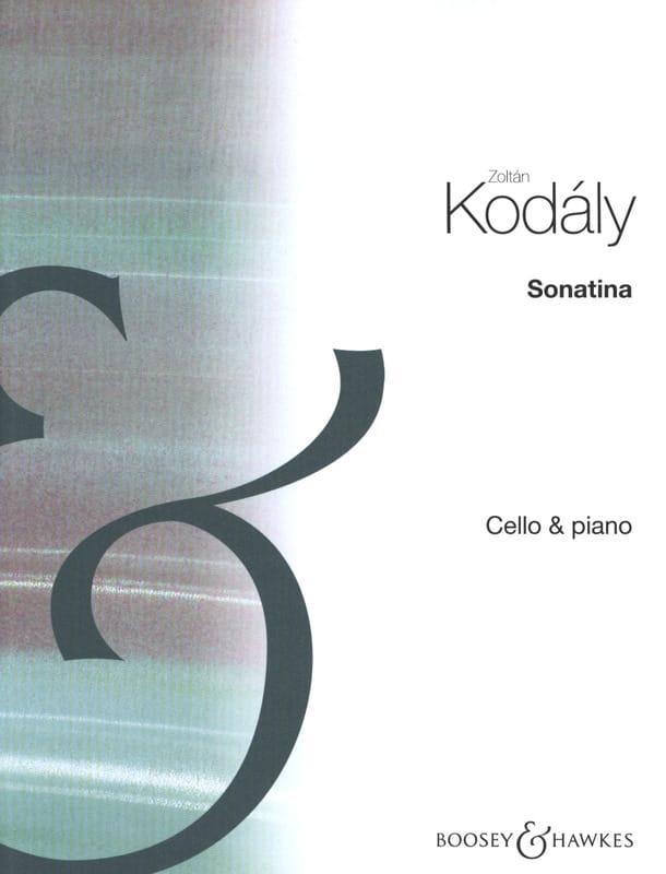 Sonatine - KODALY - Partition - Violoncelle - laflutedepan.com