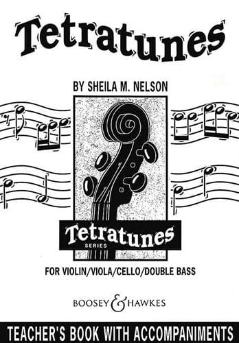 Tetratunes for Violon / Teacher's Book - laflutedepan.com