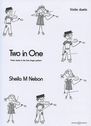 Two in One - Violin duets - Sheila M. Nelson - laflutedepan.com