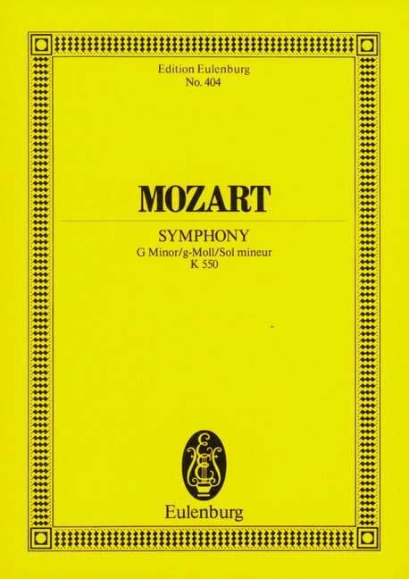 MOZART - Symphony Nr. 40 g-moll KV 550 - Partitur - Partition - di-arezzo.com