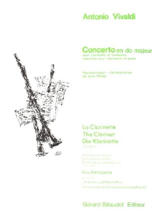 Concerto en do majeur - VIVALDI - Partition - laflutedepan.com