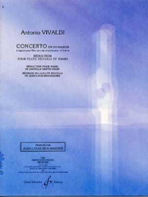 VIVALDI - Concerto In C Major F. 6 N ° 4 - Partition - di-arezzo.co.uk