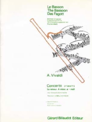 VIVALDI - Concerto F. 8 No. 7 in A minor - Partition - di-arezzo.co.uk