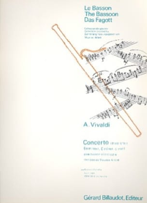 VIVALDI - Concerto F. 8 No. 14 in C minor - Partition - di-arezzo.co.uk