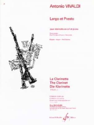 VIVALDI - Largo and Presto - Partition - di-arezzo.co.uk