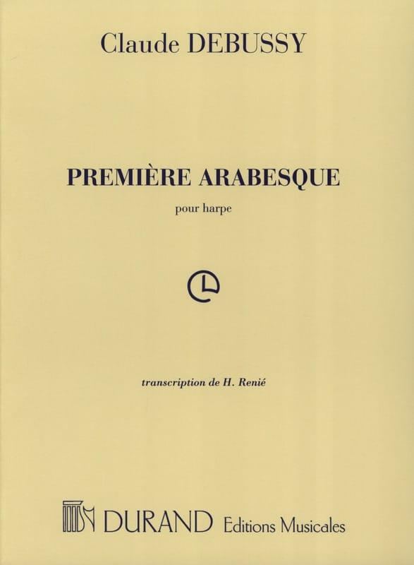 DEBUSSY - Arabesque N ° 1 Arpa - Partition - di-arezzo.it