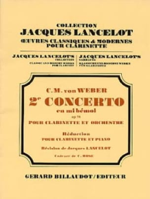 Concerto Clarinette n° 2 en mib majeur op. 74 - laflutedepan.com