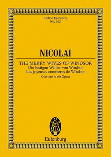 Die lustigen Weiber von Windsor - Otto Nicolai - laflutedepan.com