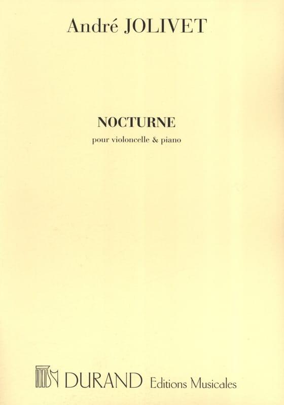 André Jolivet - nocturne - Partition - di-arezzo.com