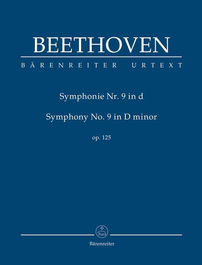 BEETHOVEN - Symphony No. 9 in D Minor - Conductor - Partition - di-arezzo.co.uk