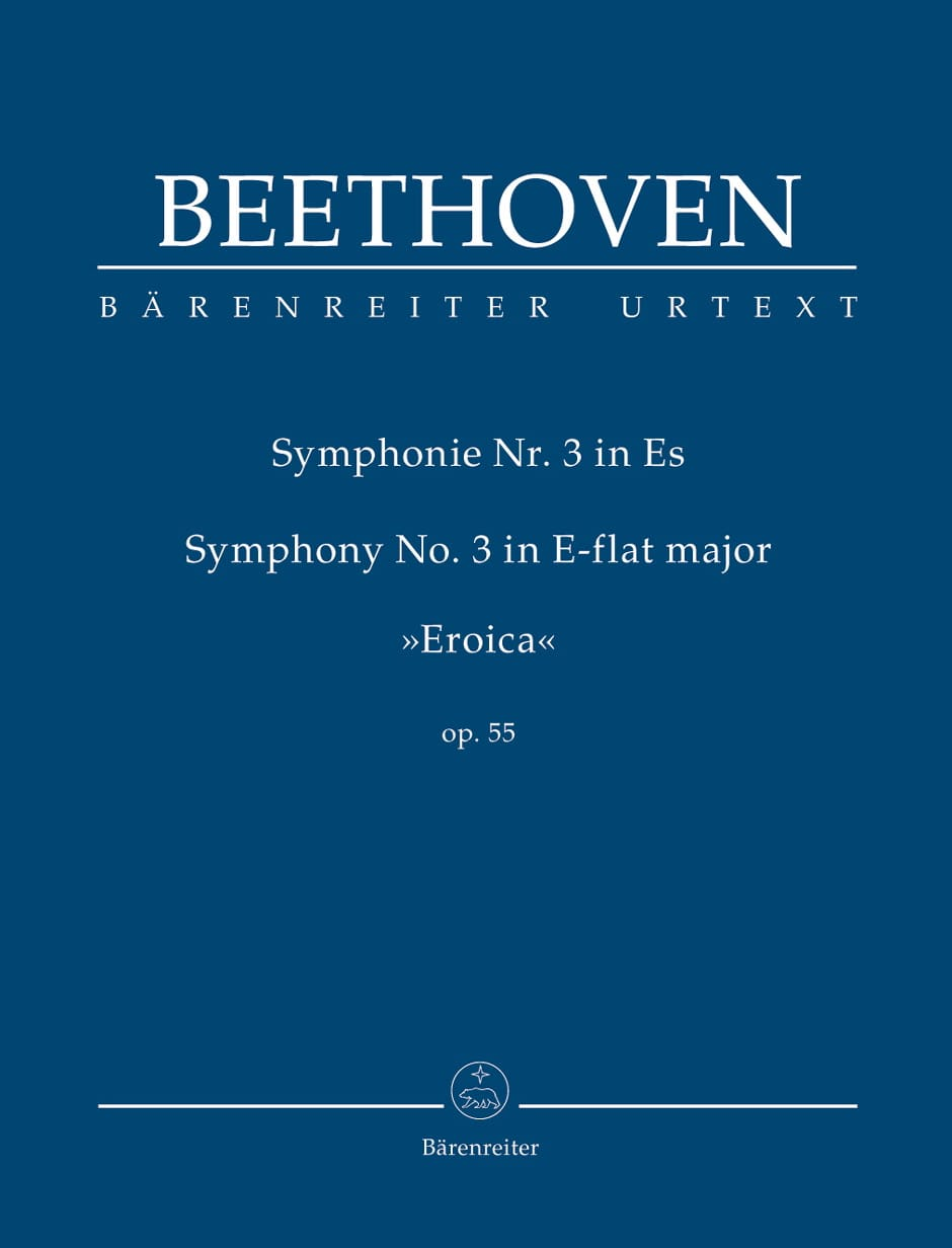 BEETHOVEN - Symphony No. 3 Mi B Maj. Heroic - Partition - di-arezzo.co.uk