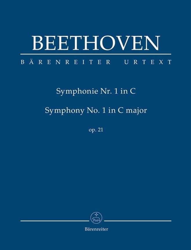 BEETHOVEN - Symphony Nr. 1 in C Major Op. 21 - Conductor - Partition - di-arezzo.com