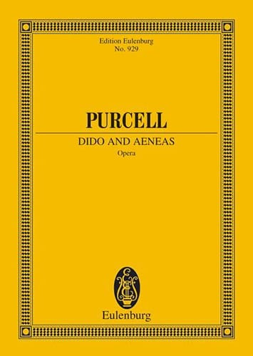 Henry Purcell - Dido and Aeneas - Partition - di-arezzo.co.uk