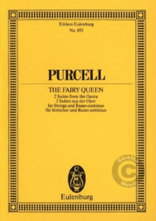 Henry Purcell - The Fairy Queen, Suites - Partition - di-arezzo.co.uk