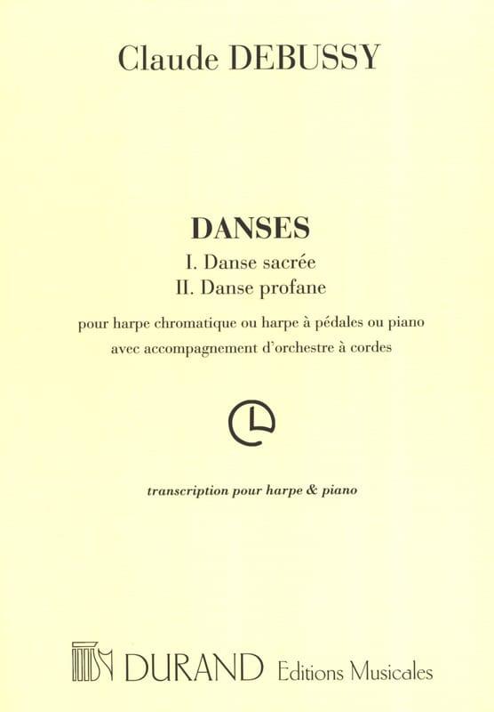 DEBUSSY - Danze sacre e profane - Partition - di-arezzo.it