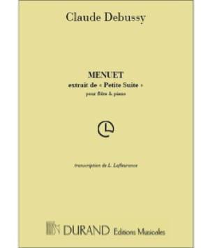 Menuet - DEBUSSY - Partition - Flûte traversière - laflutedepan.com
