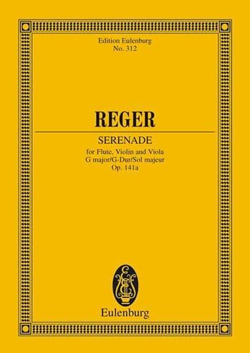 Trio G-Dur, op. 141a G-Dur - Max Reger - Partition - laflutedepan.com