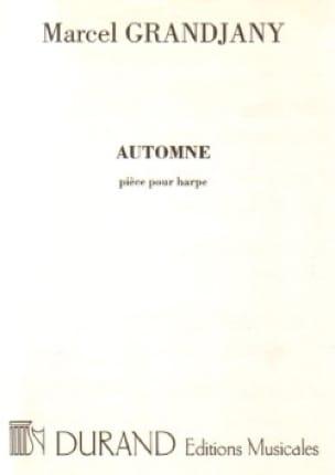 Marcel Grandjany - Automne - Partition - di-arezzo.fr