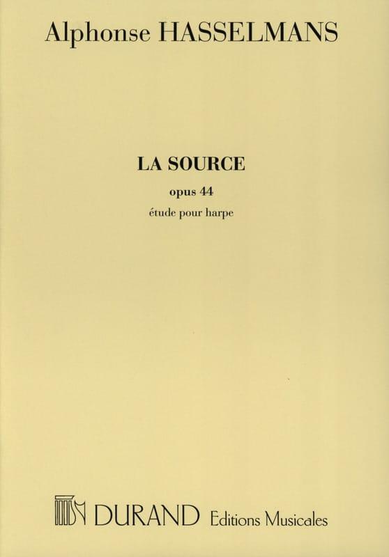La Source - Harpe - Alphonse Hasselmans - Partition - laflutedepan.com