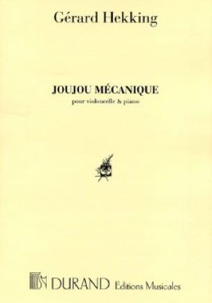 Joujou mécanique - Gérard Hekking - Partition - laflutedepan.com