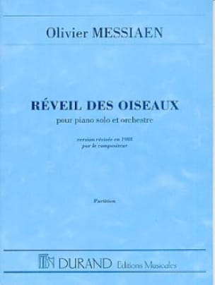 Olivier Messiaen - Wake of the Birds - Driver - Partition - di-arezzo.com