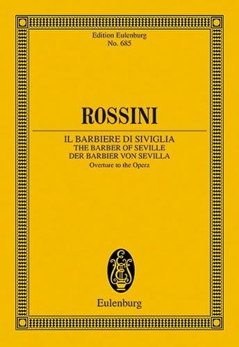 Gioacchino Rossini - Der Barbier Von Sevilla Opening - Driver - Partition - di-arezzo.co.uk