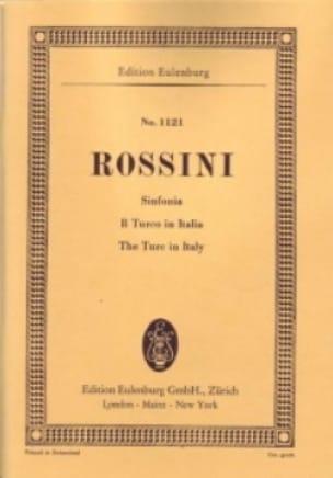 Gioacchino Rossini - Opening of the Turk in Italy - Partition - di-arezzo.co.uk