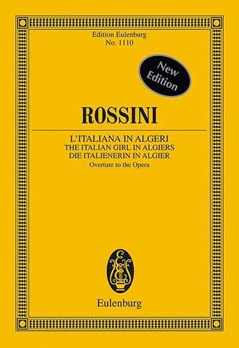 Gioacchino Rossini - Die Italienerin In Algier, Ouv. - Driver - Partition - di-arezzo.co.uk