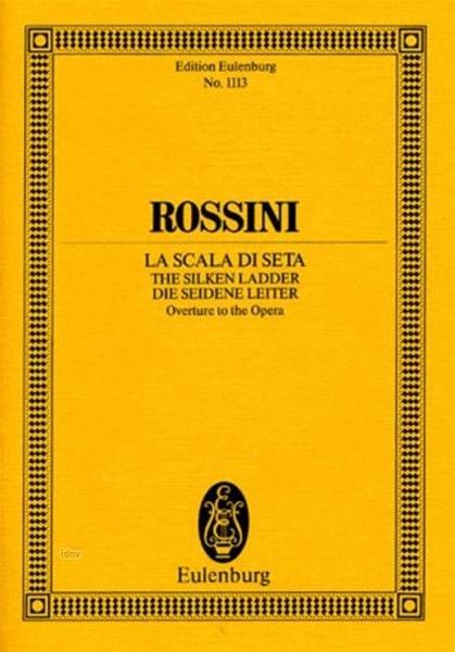Gioacchino Rossini - Opening of the Silk Scale - Partition - di-arezzo.co.uk